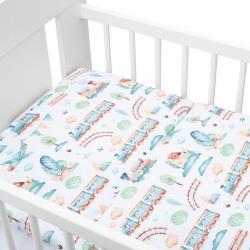 3-dielne posteľné obliečky New Baby 100/135 cm vláčik