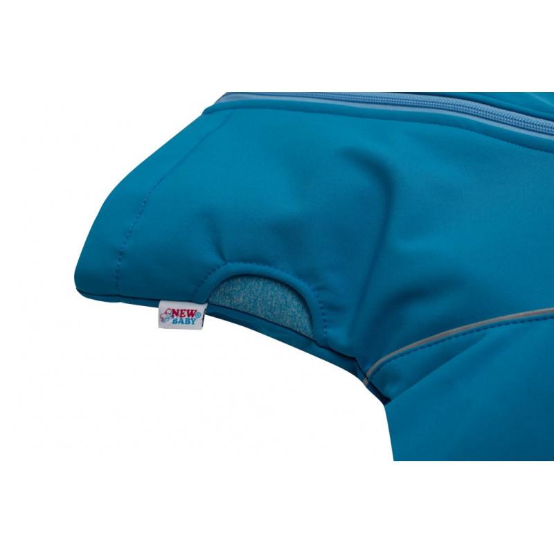 Softshellová kojenecká bundička New Baby modrá