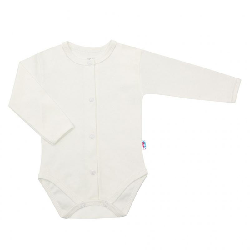 3-dílná bavlněná kojenecká souprava New Baby Kiddy smetanová
