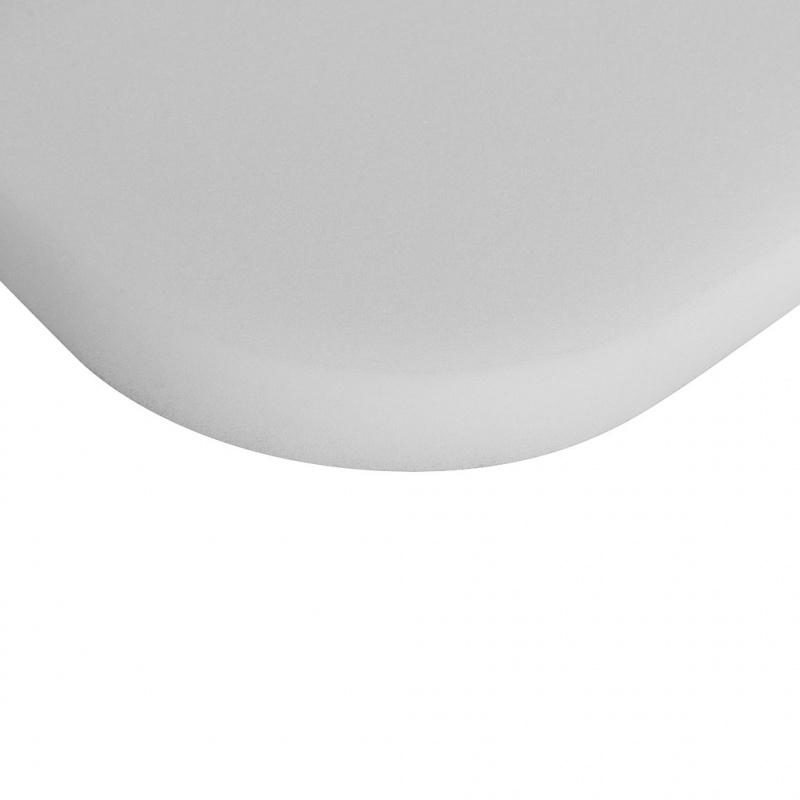 Dětská pěnová matrace do kočárku New Baby PUPU KLASIK 75x35x3 bílá