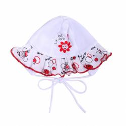 Dojčenská čiapočka New Baby Beruška