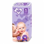 Detské jednorazové plienky New Love Premium comfort 4 MAXI 7-18 kg 44 ks
