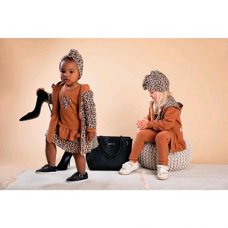 Obojstranná dojčenská mikina s kapucňou Nicol Mia