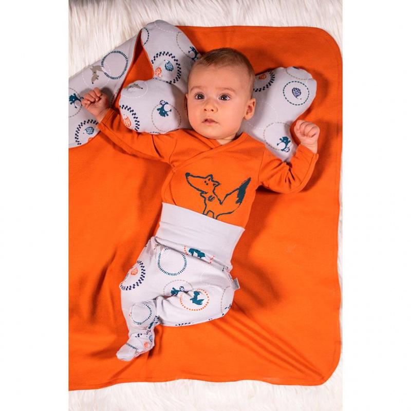 Dojčenské bavlnené polodupačky Nicol Fox Club