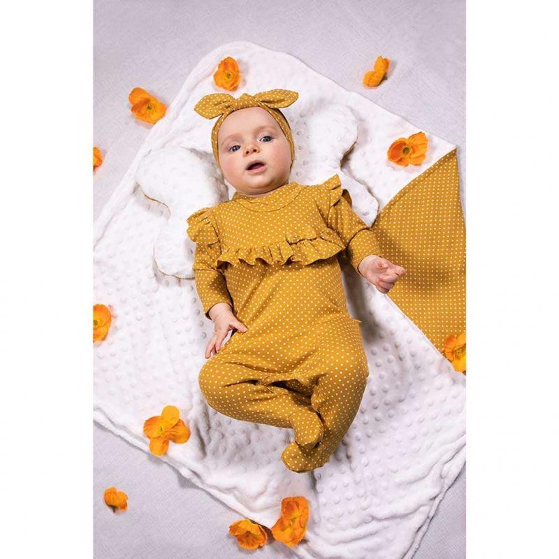 Dojčenské bavlnené dupačky Nicol Michelle