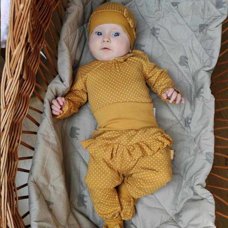 Dojčenské bavlnené polodupačky Nicol Michelle