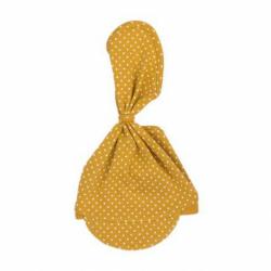 Dojčenská bavlnená čiapočka-šatku Nicol Michelle