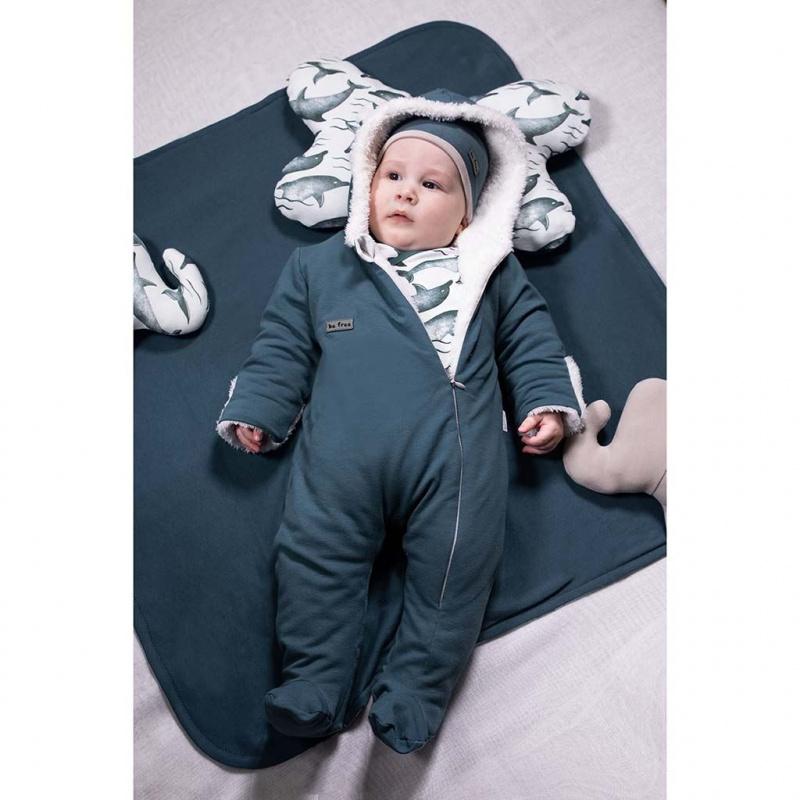Zimný dojčenský overal Nicol Dolphin