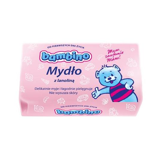 NIVEA Detské mydlo BAMBINO s lanolínu 90g - 1ks