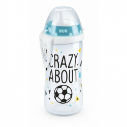 NUK NUK Láhev Kiddy Cup fotbal 300 ml