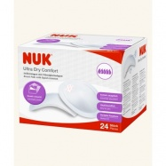NUK Prsní polštářky Ultra Dry Comfort 24 ks