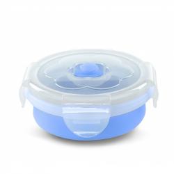 NUVITA Skládací silikonová miska 230ml, modrá