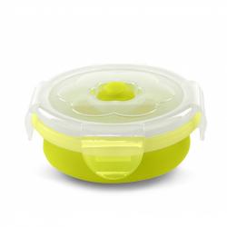 NUVITA Skládací silikonová miska 230ml, zelená