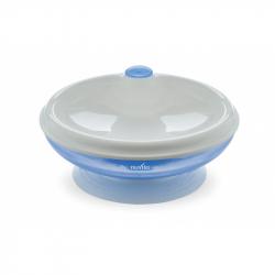 Termo miska s přísavkou, Pastel blue
