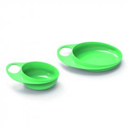 Talíř a miska, Pastel green