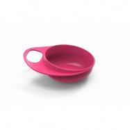 NUVITA Plastové misky 2ks, růžová