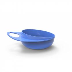 NUVITA Plastové misky 2ks, modrá