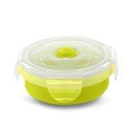 NUVITA Skládací silikonová miska 540ml, zelená