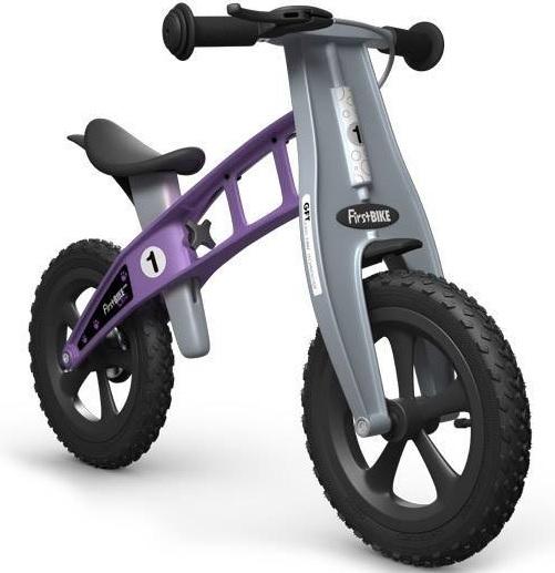 First Bike CROSS Violet s brzdou