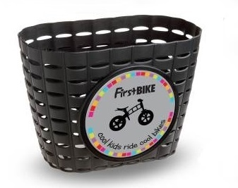 First Bike košík na řídítka černý