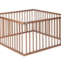 Dřevěná ohrádka Puppolina 120 x 120 cm buk