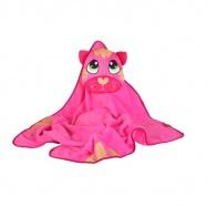 OKIEDOG dětská cestovní deka s polštářkem, CAT