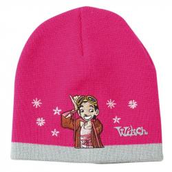 Zimná čiapka ružová Witch