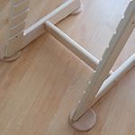 stabilizační botičky v barvě židle (+222Kč)