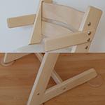 područky a botičky v barvě židle (+580Kč)