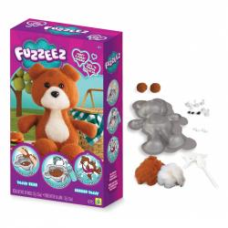 výroba medveďa Fuzzeez