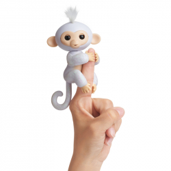 Fingerlings - Opička trblietavá Sugar biela