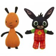 Plyšová figurka Bing Flop a Hoppity