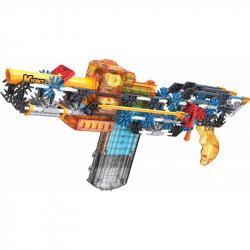 K NEX - Stavebnica pištole motorizovaná Flash Fire Blaster. 288 dielikov