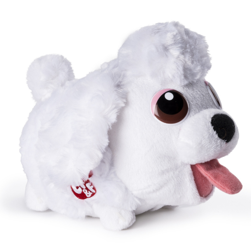 CHUBBY PUPPIES - Pluszowe szczęśliwe zwierzaki - wibrują