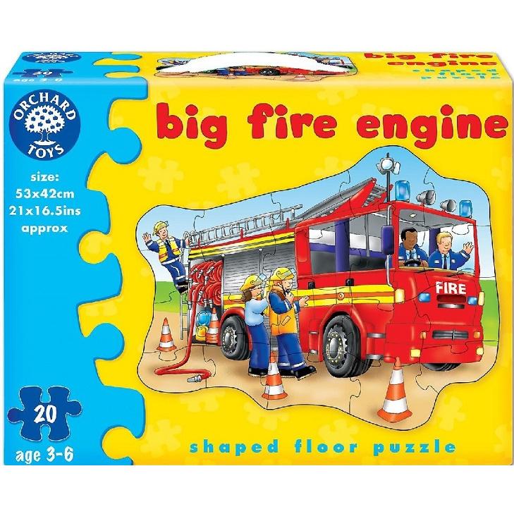Orchard toys - Velké puzzle hasiči 20 dílků