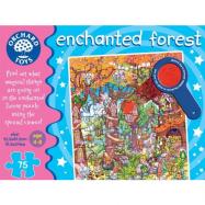 Orchard toys - Velké puzzle kouzelný les 75 dílků