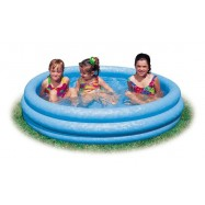 Bazén tříkomorový 114x25cm