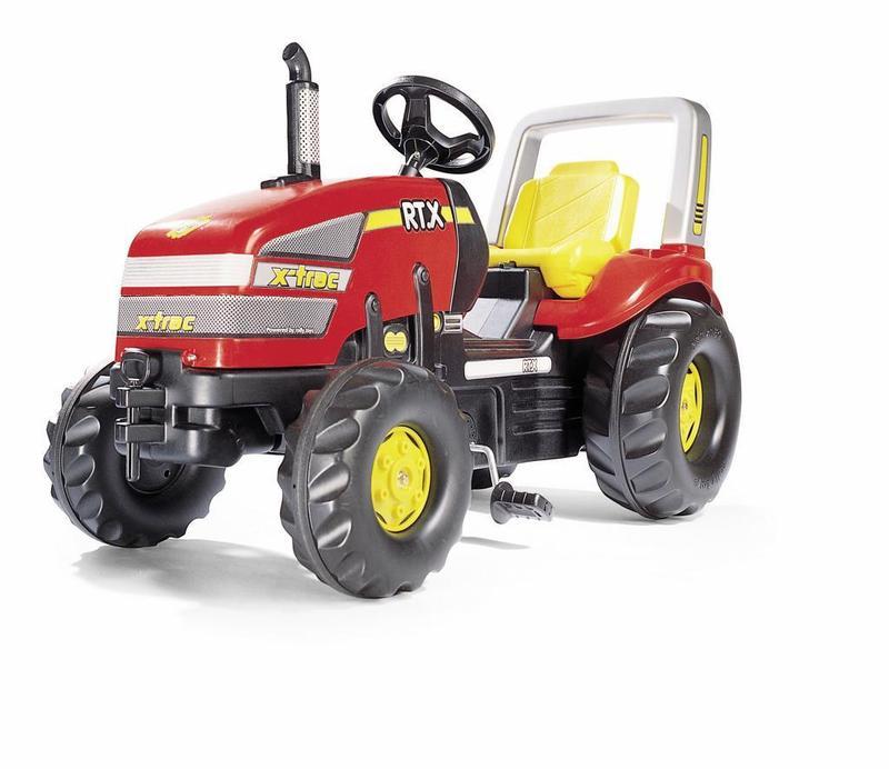 Šlapací traktor X-Trac - červený
