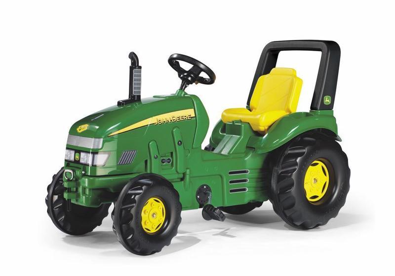 Šliapací traktor X-Trac John Deere - zelený