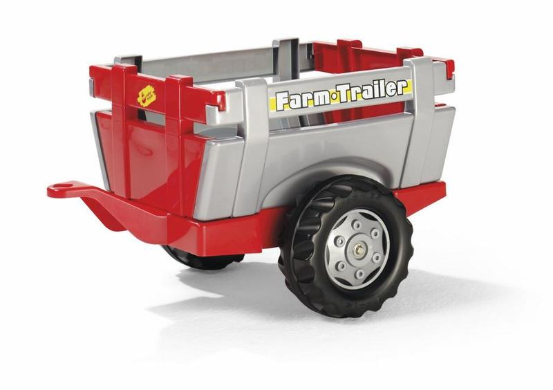 Vlečka za traktor 1osá
