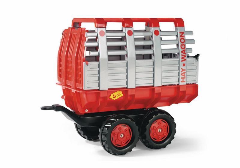 Vlečka na seno za traktor 2osá