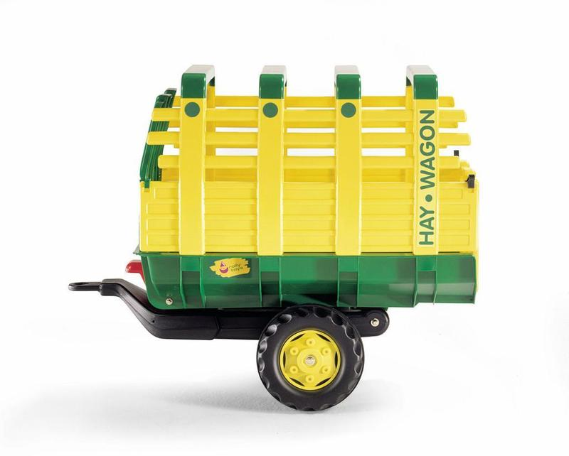 Vlečka na seno za traktor 1osá