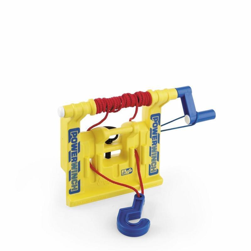 Naviják k šlapacímu traktoru - žlutý