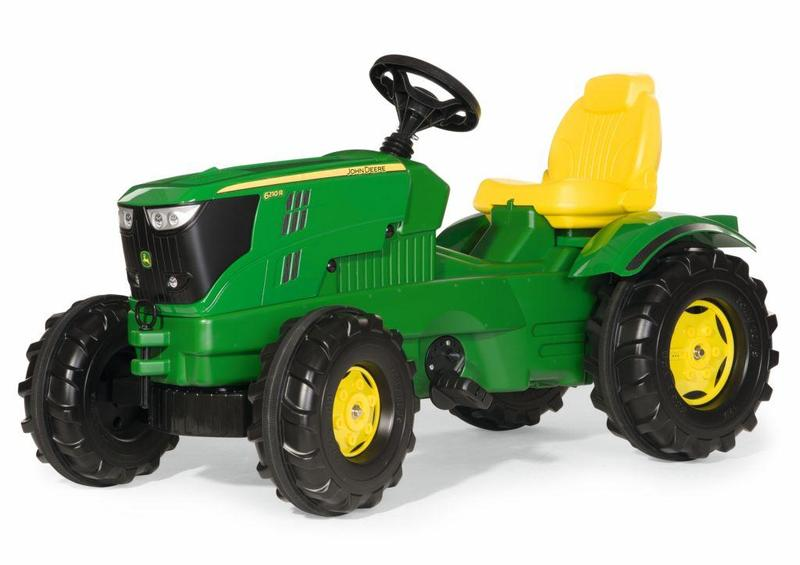 Šlapací traktor Farmtrac John Deere 6210
