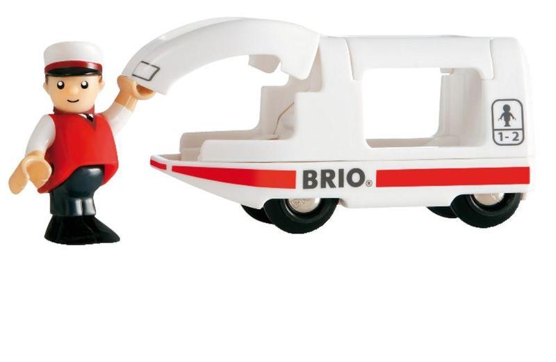 Lokomotíva BRIO se rušňovodičom