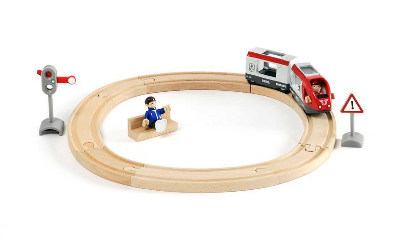Vláčkodráha kruhová, osobný vlak, 15 dielov