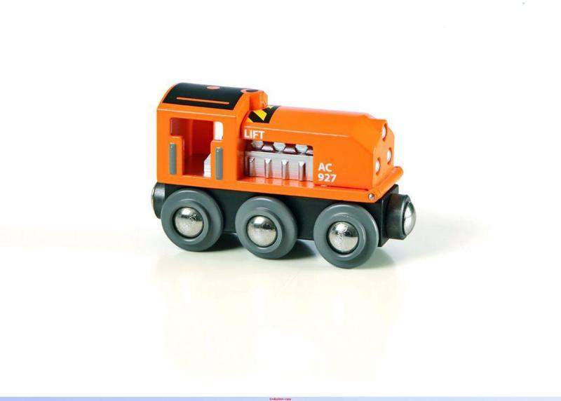 Lokomotiva oranžová
