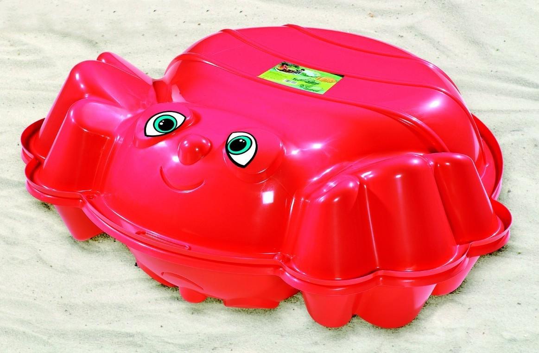 Pískoviště Plážová včelka červená
