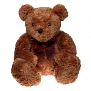 Medvěd plyšový hnědý 30 cm