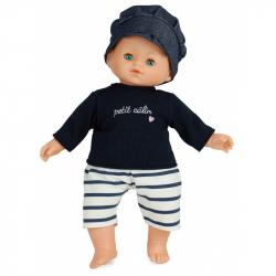Petitcollin Bábika Baby Doll 36 cm Paul